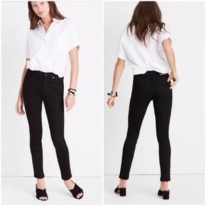 "Madewell 9"" High Rise Skinny Jeans Sz 25p EUC"